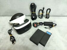 PS VR Headset With Cables (No Camera) Virtual Reality PSVR V1 Sony PlayStation 4