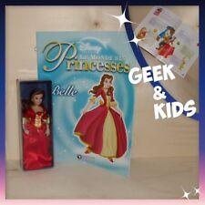 Figurine Disney - Poupée en porcelaine édition Atlas + Fascicule - Belle en Robe