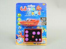 Remote Control Rc Micro Boat Mini Rc Boat Rc Toy + Extra Batteries Orange