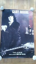 GARY MOORE 'After Hours' unused Shop Display POSTER 20x30 inches