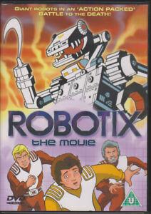 Robotix the Movie (1985) animated UK R0 DVD