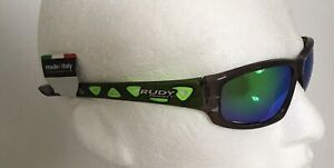 Rudy Project AIRGRIP Crystal Graphite Sunglasses & GREEN Mirror lenses Ref:195