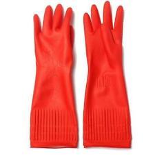 Household Latex Rubber Gloves Non Slip Grip Comfort Fit Heavy indoor outdoor new