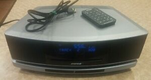 Bose Wave Sound Touch Music System IV, Pedestal, CD Player, Remote, Silver
