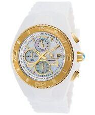 TechnoMarine Men's Cruise White Silicone Band Quartz Analog Watch TM-115354
