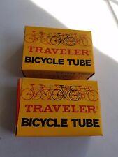 2  SCHWINN STINGRAY FASTBACK 20 X 1 3/8  S-5  S-6  BICYCLE TUBE TRAVLERS IN BOX