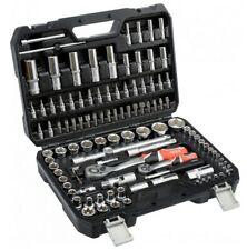 """Yato YT-38791 Socket Wrench Set TYP2 1/2 """" + 1/4 """" 108-TLG Tool Case Suitcase"""