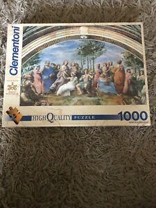 Clementoni Raffaello Renaissence 1000 piece jigsaw puzzle