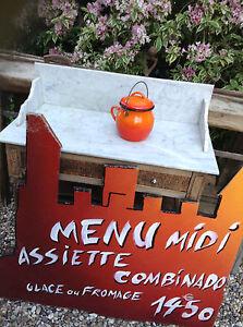 French Enamel Small Cauldron