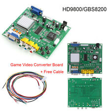 Arcade Game RGB CGA EGA YUV to VGA HD Video Converter Board HD9800 GBS8200