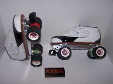 New Vanilla Diamond Walker Custom Leather Roller Skates Mens 9