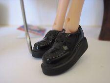 Momoko Dolls Fashion Shoes new loafer black