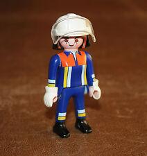 Playmobil pompiers femme pompier en tenue 4819