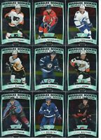 19/20 OPC PLATINUM MARQUEE ROOKIES LOT OF 13 GLASS VERHAEGHE CLIFTON FROST