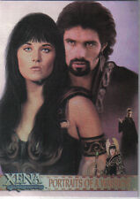 XENA ART AND IMAGES PORTRAITS OF A WARRIOR CARD PP16