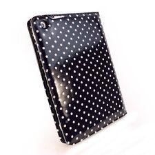 Tuff Luv Embrace Polka iPad Mini & Retina Folio Case Oil Cloth Hot Black