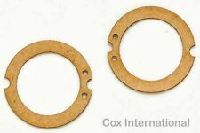 2x   Cox 020 Tee Dee Model Engine Fuel Tank Backplate Gaskets .020