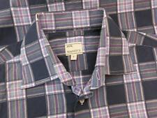 Mason's Multi-Colored Plaid Cotton Dress Shirt S Small