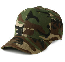 Men Women Baseball Cap Military Army Camo Hat Trucker Camouflage Snapback NEW