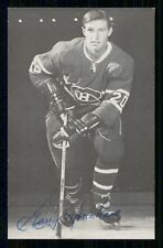 1967-68  MONTREAL CANADIENS POSTCARDS   GARRY MONAHAN   INV  J9344