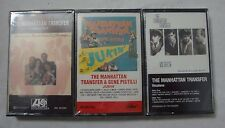 Manhattan Transfer 3 Cassette Tape Lot Sealed Vintage Coming Out Jukin Vocalese