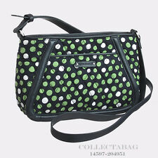 Authentic Vera Bradley Trimmed Trapeze Lucky Dots Crossbody 14597-204951
