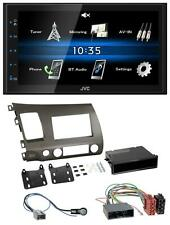 JVC 2din Bluetooth mp3 aux USB autoradio para Honda Civic híbrido fd3 06-10 anthra