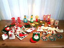 40 Handmade Plastic Canvas Christmas Ornaments