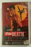 To The Death VHS 1993 Martial Arts Darrell Roodt John Barrett Cannon Large Case