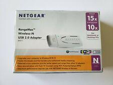NETGEAR WN111 RangeMax Wireless-N USB 2.0 Adapter
