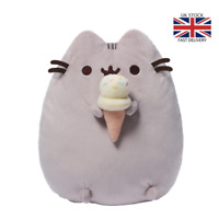UK NEW Pusheen The Cat Pusheen With Ice Cream Plush Soft Toy Stock