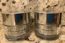 Clinique smart night custom-repair moisturizer 1 oz x 2 - New - Retail $60+