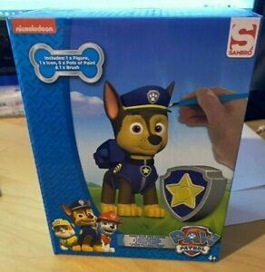Paw Patrol Paint And Play CHASE Figure