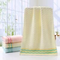 Striped Soft Cotton Bath Towel Hand Hair Face Towel Baby Kids Washcloths N7