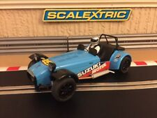 Scalextric Caterham R500 C3133 Fully Serviced + Brand New Braids Excellent