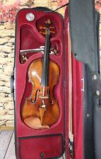 Geige Violinen Set 4/4 Geigenset im Koffer Korpus 35,5 cm
