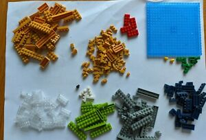 Nano Blocks bricks Bundle Joblot Lego Minecraft (Includes Base)