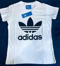 Woman's Adidas WHITE S T-shirt Short Sleeve regular Fit..