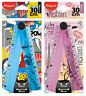 Maped Tatoo Teens Folding 15 or 30cm Ruler Paris Fashion Pink or Comics Blue