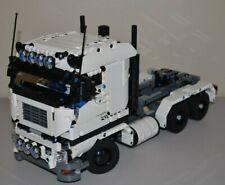 NEW LEGO TECHNIC WHITE 8258 V6 MOC/CUSTOM TRUCKover 14 inches long
