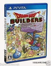 Used PS Vita Dragon Quest Builders  SONY PLAYSTATION JAPANESE IMPORT