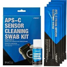 DSLR Sensor Cleaning Swabs Kit 12pcs with Liquid Cleaner Solution for Nikon Cano