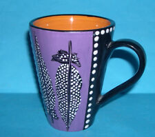 Garankuwa Studio Pottery South Africa - Highly Decorative Flared Top Mug (M.M)