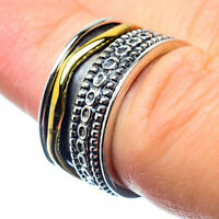 Meditation Spinner 925 Sterling Silver Ring Size 6 Ana Co Jewelry R25992F