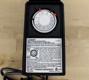 Malibu Intermatic LV365T Low Voltage 12v Transformer Lighting Timer 44 Watts Max