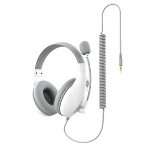 Wired On Ear Headphones with Microphones for Adults Students Comfortable Headset