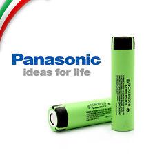 PANASONIC NCR 18650 B Li-ion BATTERIA RICARICABILE 3400mAh SIGARETTA  pila piatt