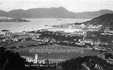 """Photo 1930s Hong Kong """"Happy Valley Race Course"""""""