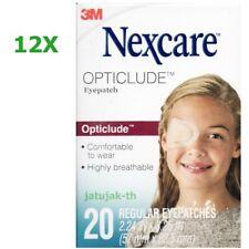 Nexcare 3M Opticlude Eye Patch Regular Size 12 Boxes 240 Pcs Orthoptic Exp 2024