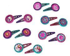 Amscan – 394433 Frozen con purpurina clips de pelo